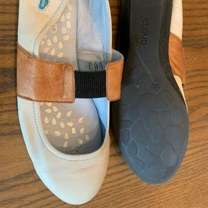 Cloud Shoes - Beautiful leather flats with a slight lift.